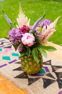DIY Pineapple Vase