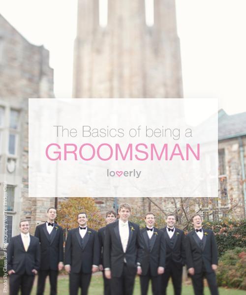 Being a Groomsman