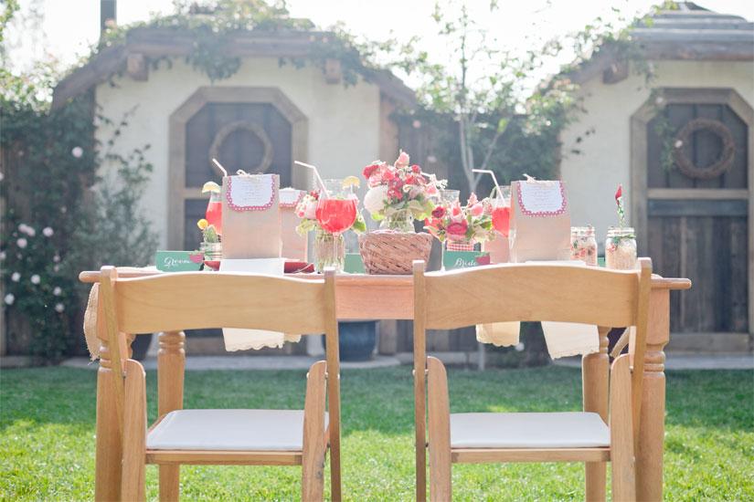 wedding garden bridal shower