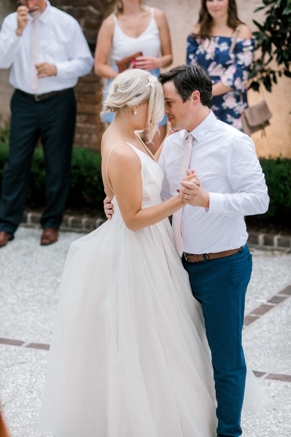 First dance as husband and wife in Charleston