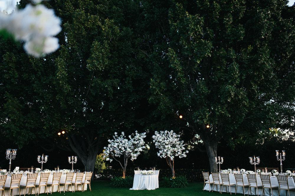 timeless garden wedding