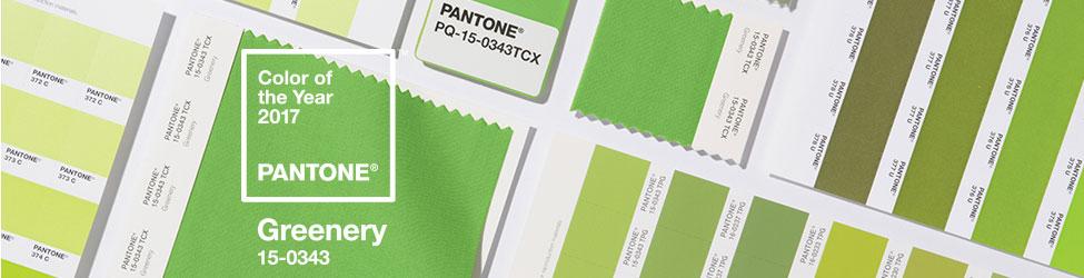 pantone color of the year, greenery pantone, pantone 2017