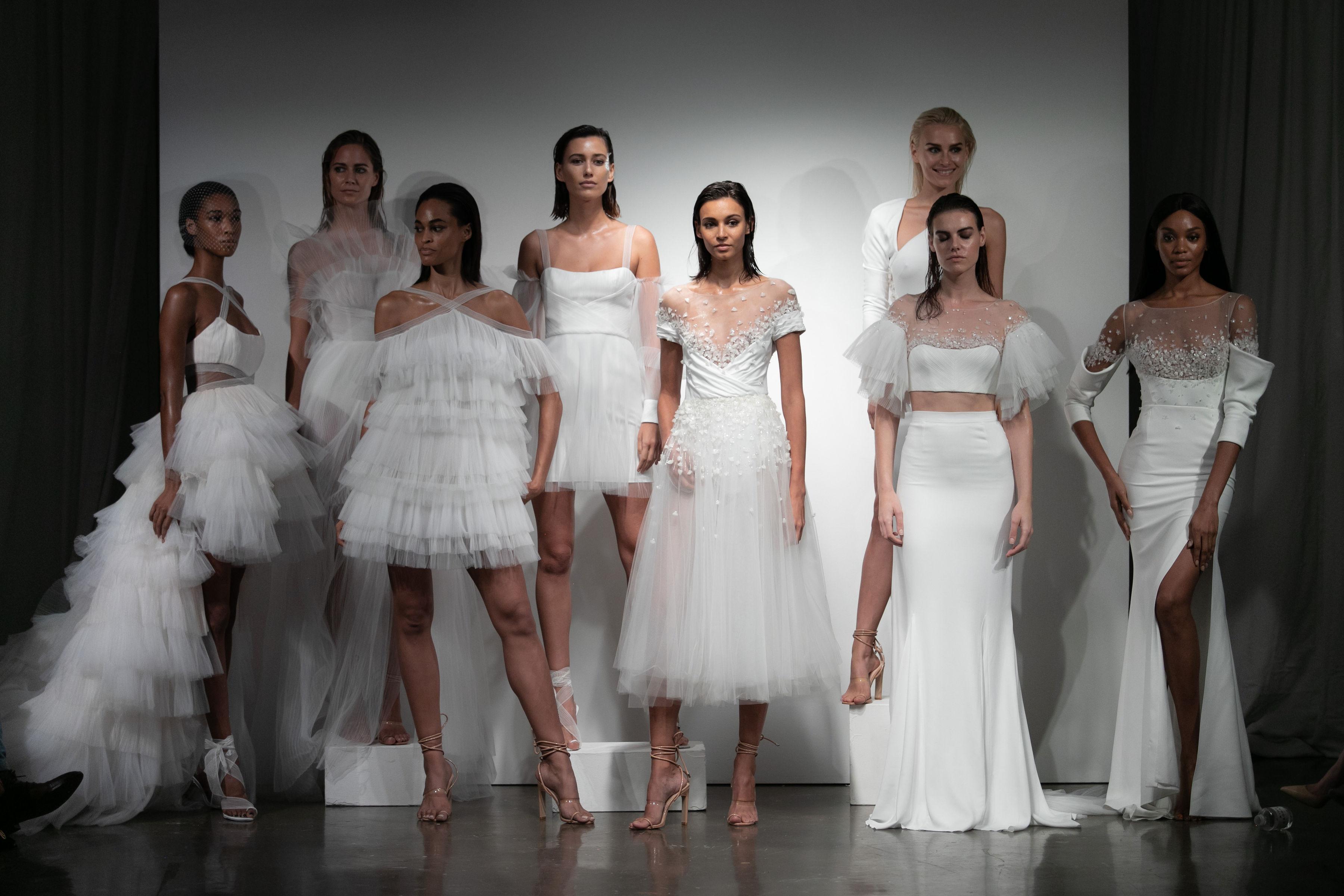 Top 10 Best Wedding Dress Designers In 2019: The Top 10 Best Dresses From Rime Arodaky's Spring 2019