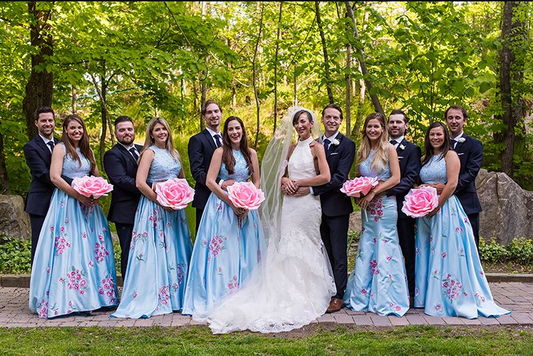 Everything's Coming Up GIANT Roses at This Not-So-Cookie-Cutter Real Wedding