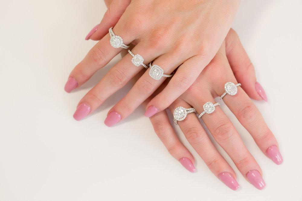 engagement ring shopping