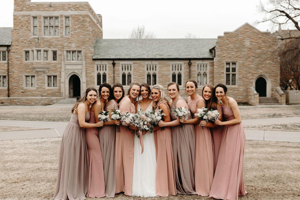 dreamy blush wedding