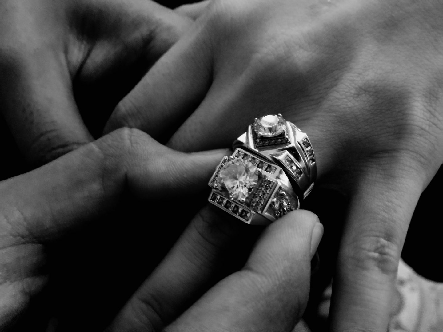 Apparently, Huge Diamond Engagement Rings Are Officially Outdated