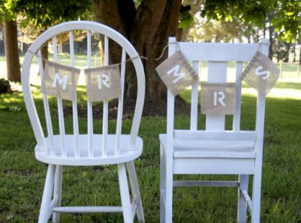 Wedding DIYs That Are the Definition of Shabby Chic