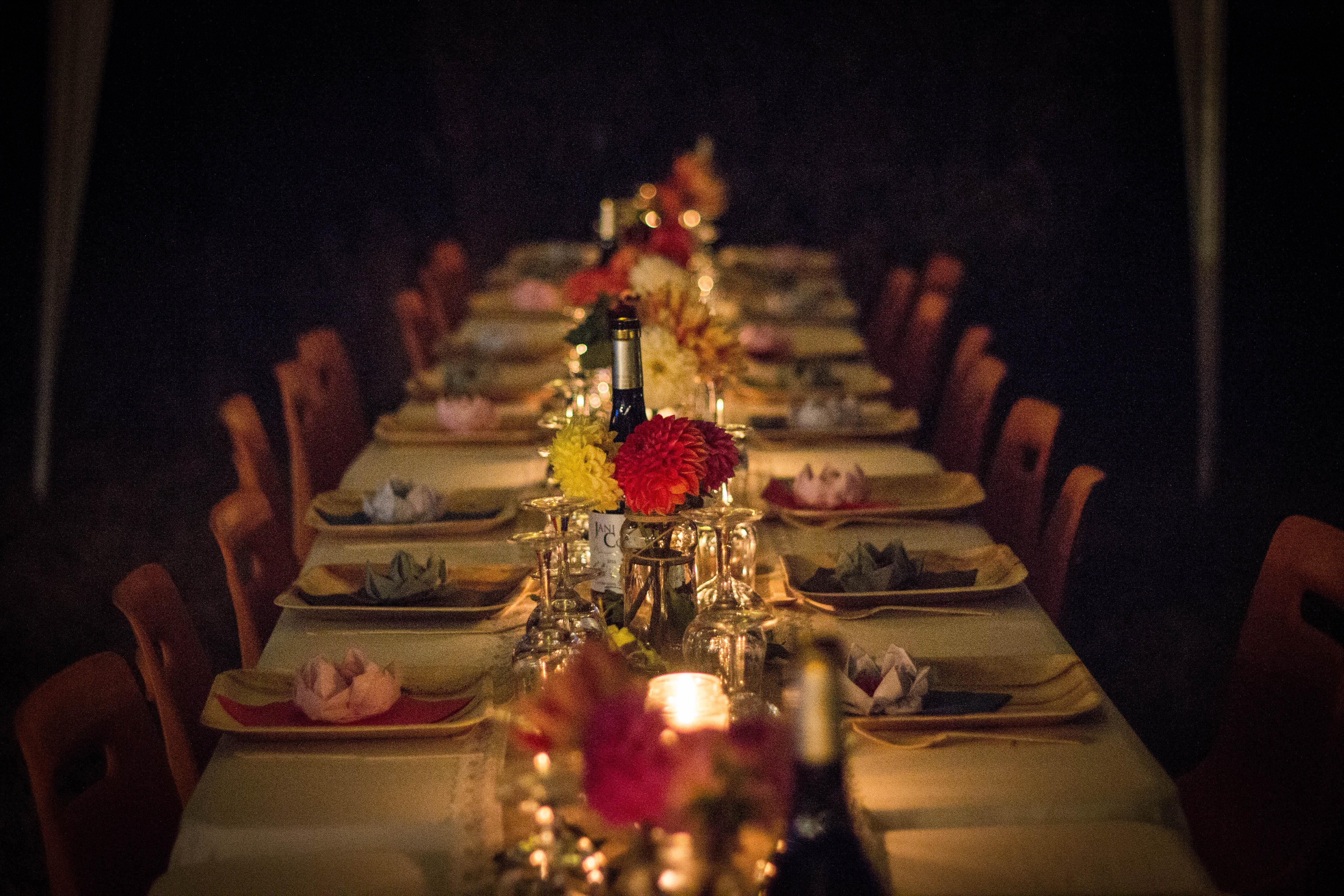 wedding food family style