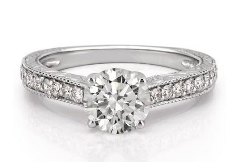 conflict-free diamond engagement ring