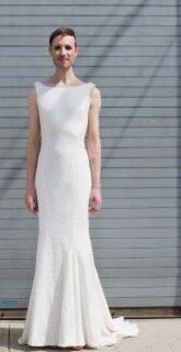 Genderfluid Wedding Gown Look