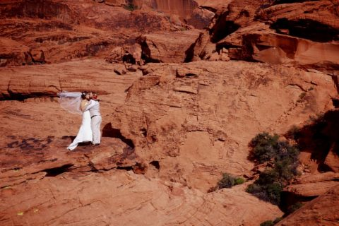 Jaw Dropping Red Rock Canyon Wedding