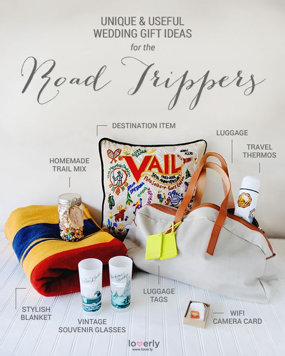 Give This: Wedding Gift Ideas Perfect for Road Trippers